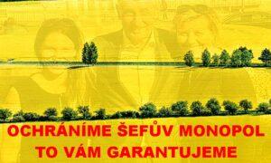 Českou republiku ovládají manažeři z Agrofertu